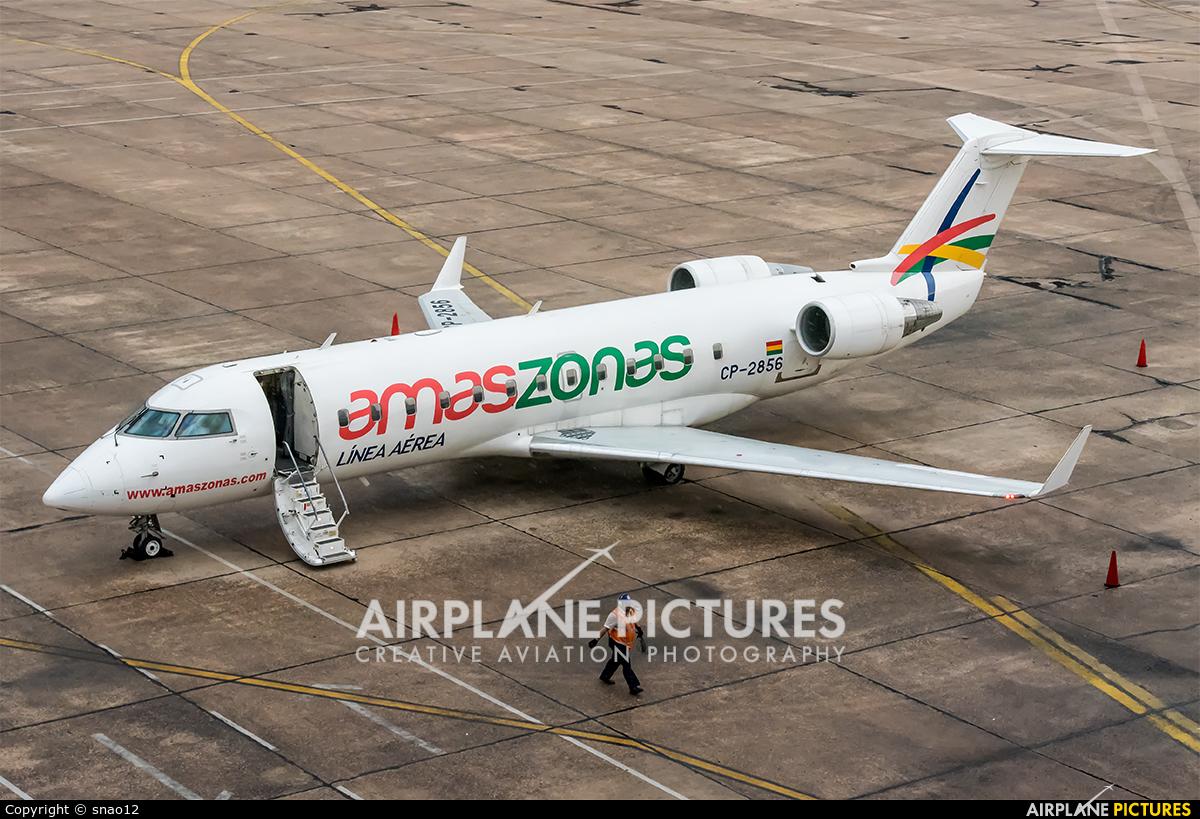 Amaszonas CP-2856 aircraft at Asuncion - Silvio Pettirossi Intl