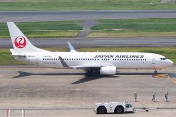 JA348J - JAL - Japan Airlines Boeing 737-800