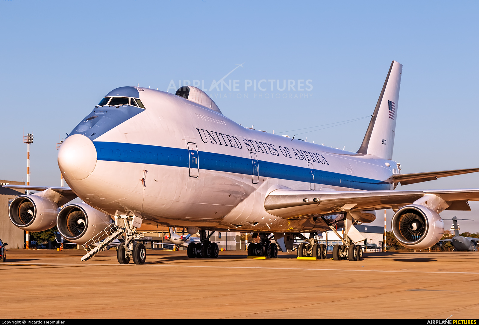 USA - Air Force 73-1677 aircraft at Brasília - Presidente Juscelino Kubitschek Intl