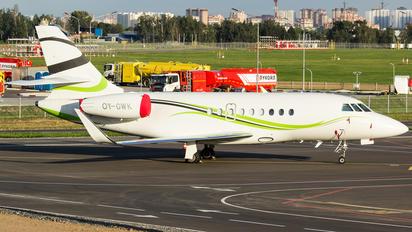 OY-GWK - Private Dassault Falcon 2000 DX, EX