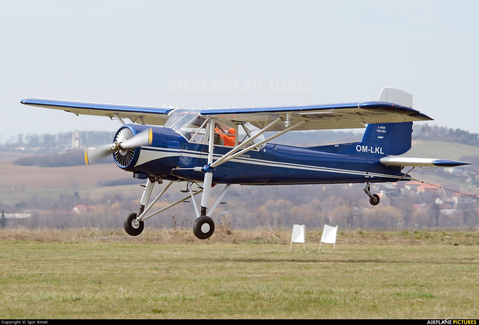 Aeroklub Nitra OM-LKL aircraft at Nitra