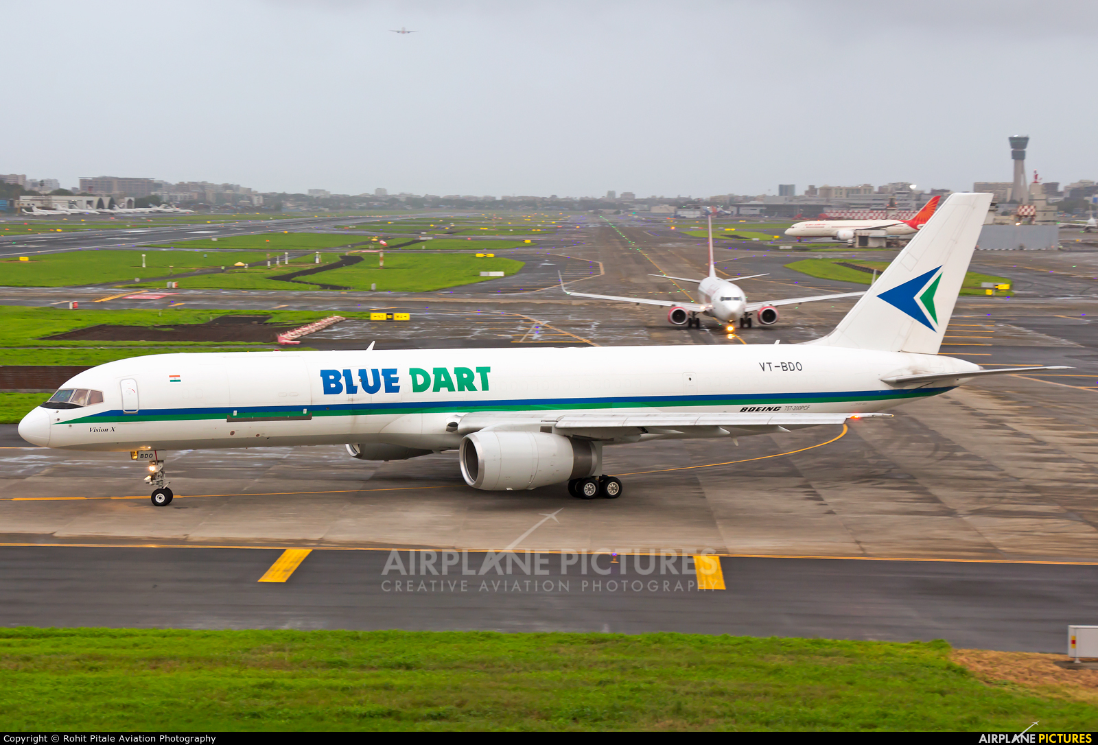 Blue Dart Aviation VT-BDO aircraft at Mumbai - Chhatrapati Shivaji Intl