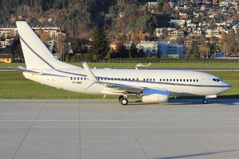 VP-BWR - Private Boeing 737-700 BBJ
