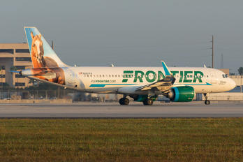 N307FR - Frontier Airlines Airbus A320 NEO