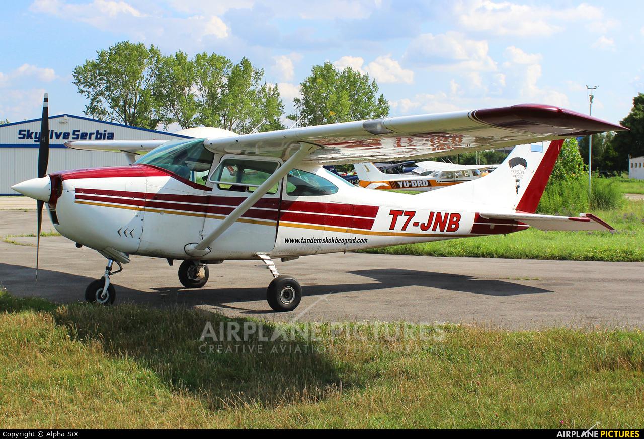 Private T7-JNB aircraft at Belgrade - Lisičji Jarak