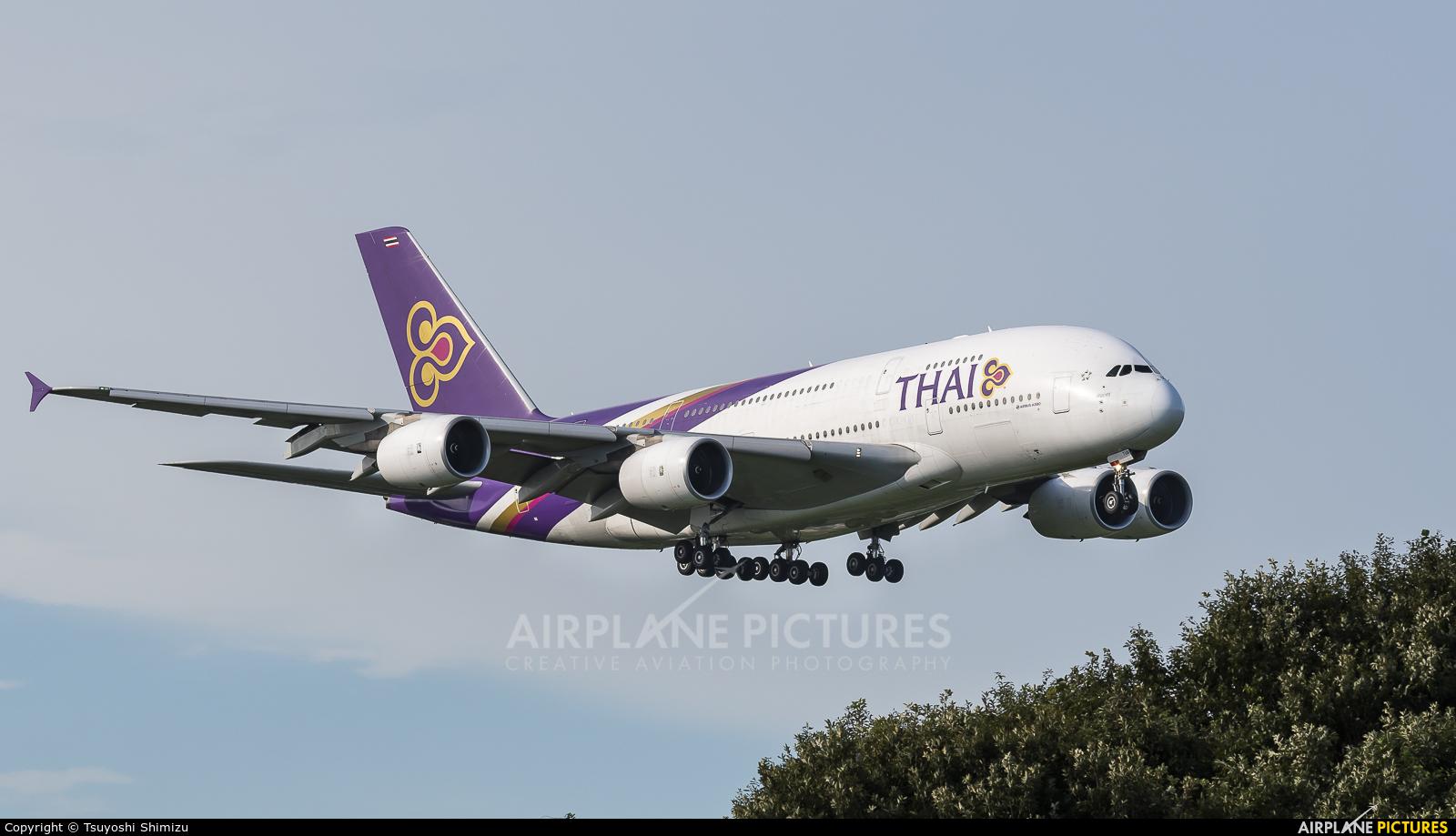 Thai Airways HS-TUB aircraft at Tokyo - Narita Intl