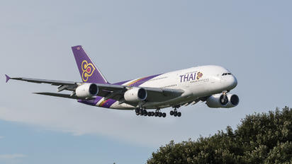 HS-TUB - Thai Airways Airbus A380