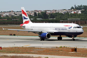 G-GATK - British Airways Airbus A320