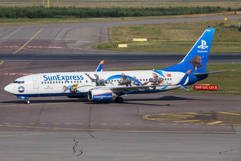 TC-SNN - SunExpress Boeing 737-800