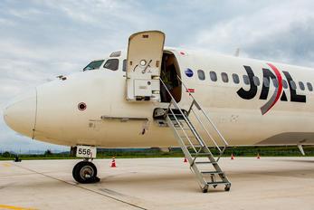 JA8556 - JAL - Express McDonnell Douglas MD-81
