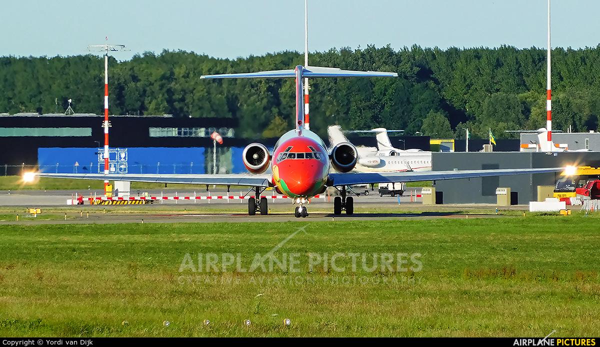 Danish Air Transport OY-RUE aircraft at Rotterdam