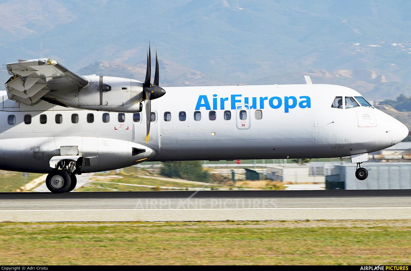 Swiftair EC-MEC aircraft at Málaga