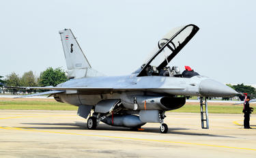 KH19K-19/38 - Thailand - Air Force Lockheed Martin F-16B Block 20 MLU