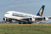 9V-SKY - Singapore Airlines Airbus A380 aircraft
