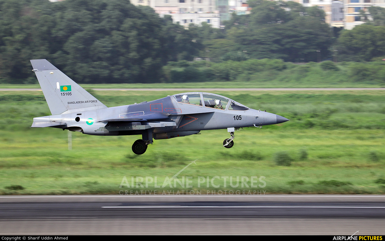 Bangladesh - Air Force 15105 aircraft at Dhaka - Hazrat Shahjala Intl