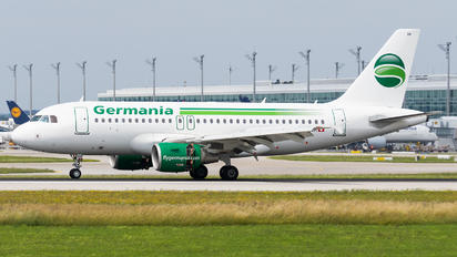 HB-JOH - Germania Flug Airbus A319