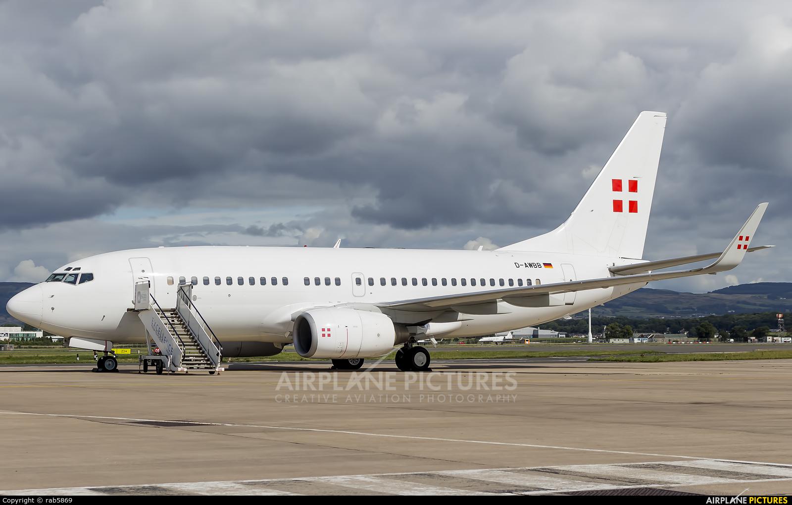 PrivatAir D-AWBB aircraft at Glasgow