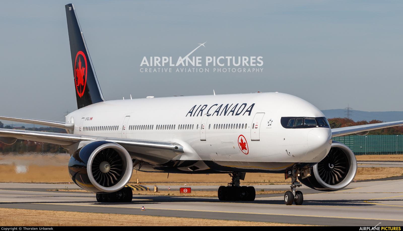Air Canada C-FIUJ aircraft at Frankfurt