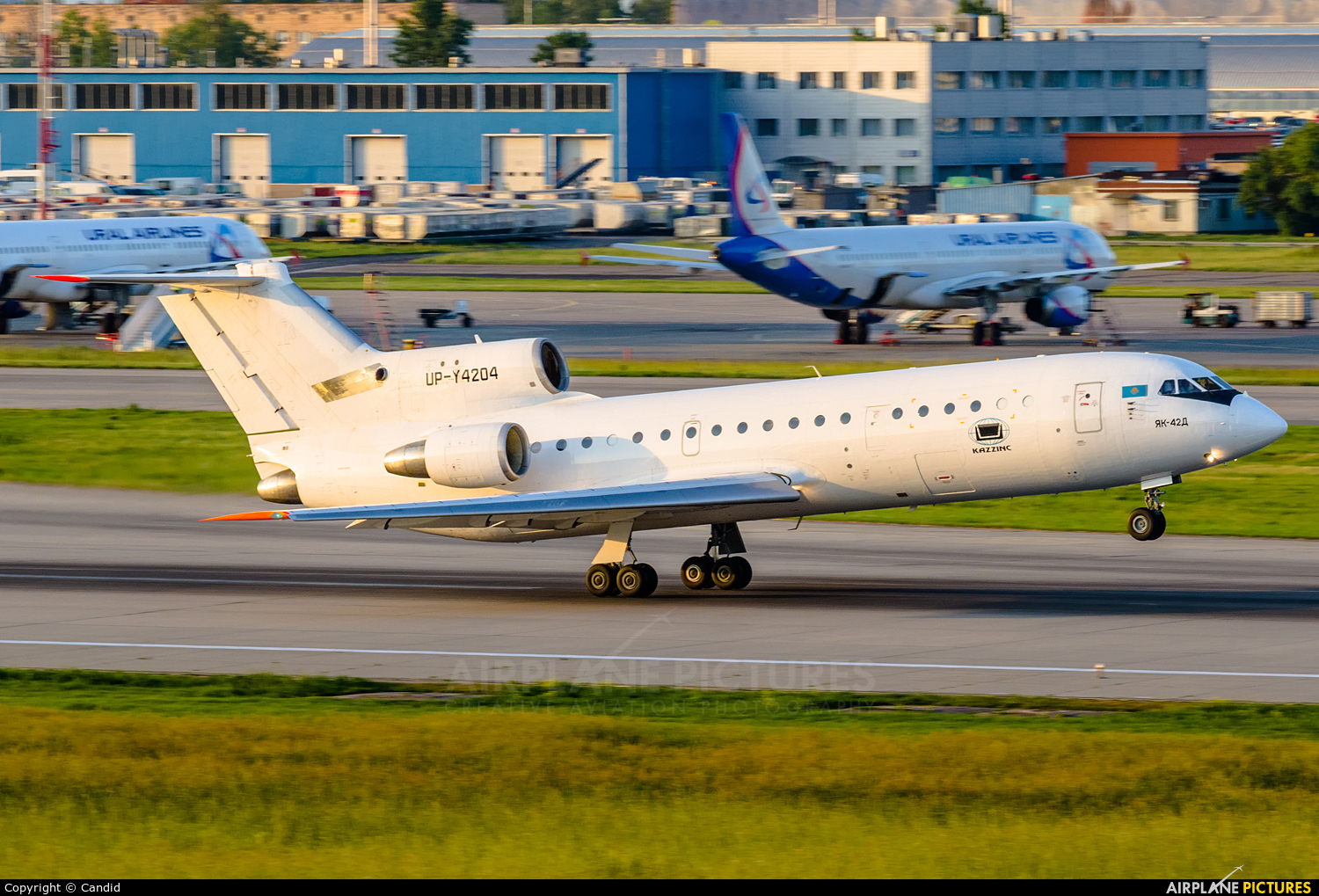 Kazakhstan - Government UP-Y4204 aircraft at Moscow - Domodedovo