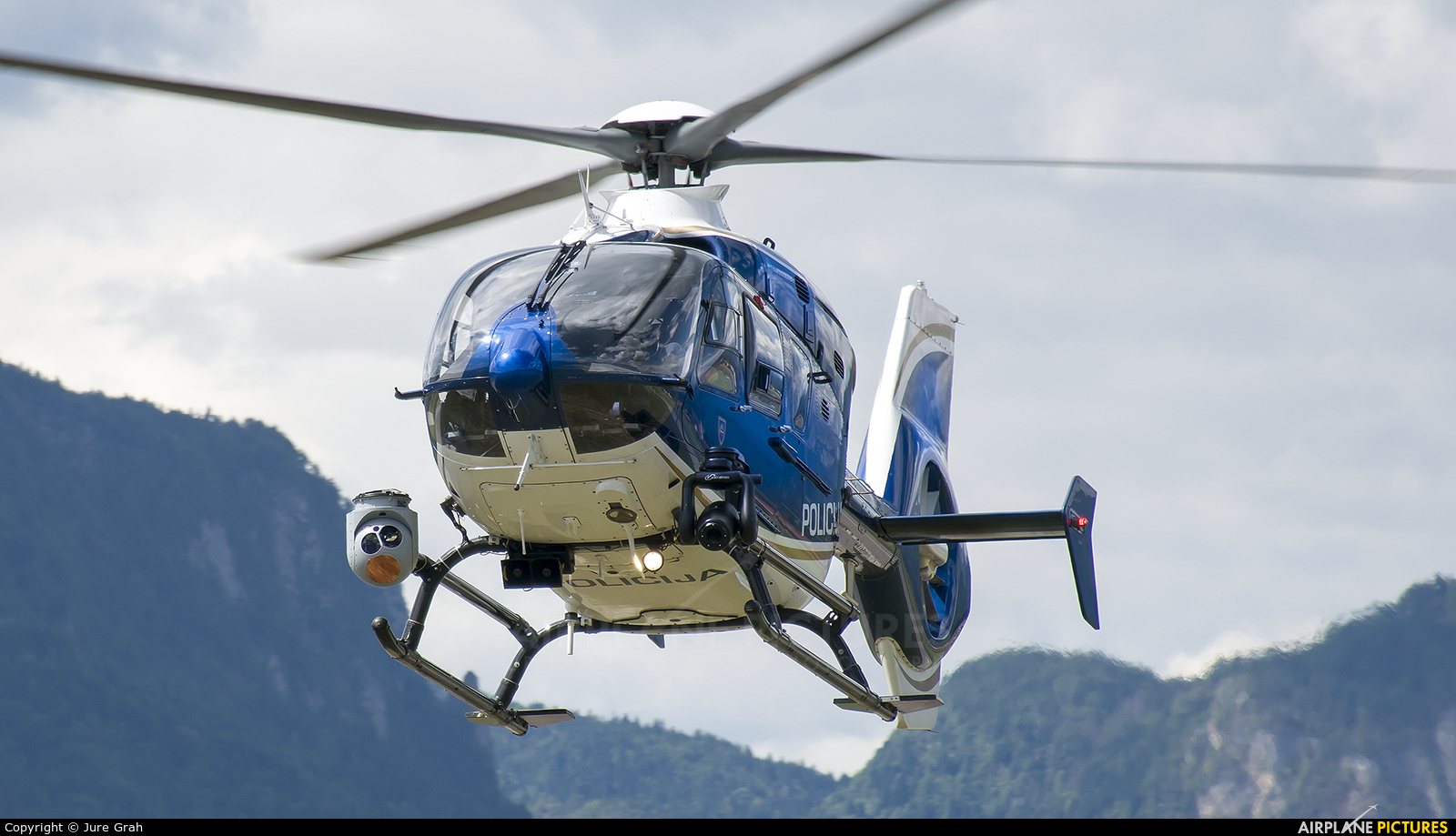 Slovenia - Police S5-HPH aircraft at Lesce-Bled