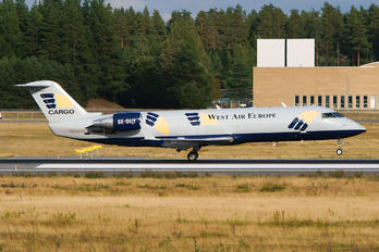 SE-DUY - West Air Sweden Bombardier CRJ-200LR