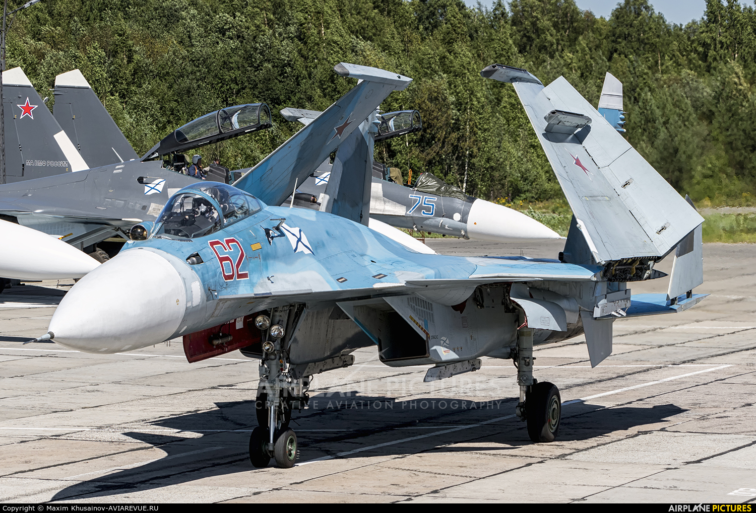 Russia - Navy 62 aircraft at Undisclosed Location