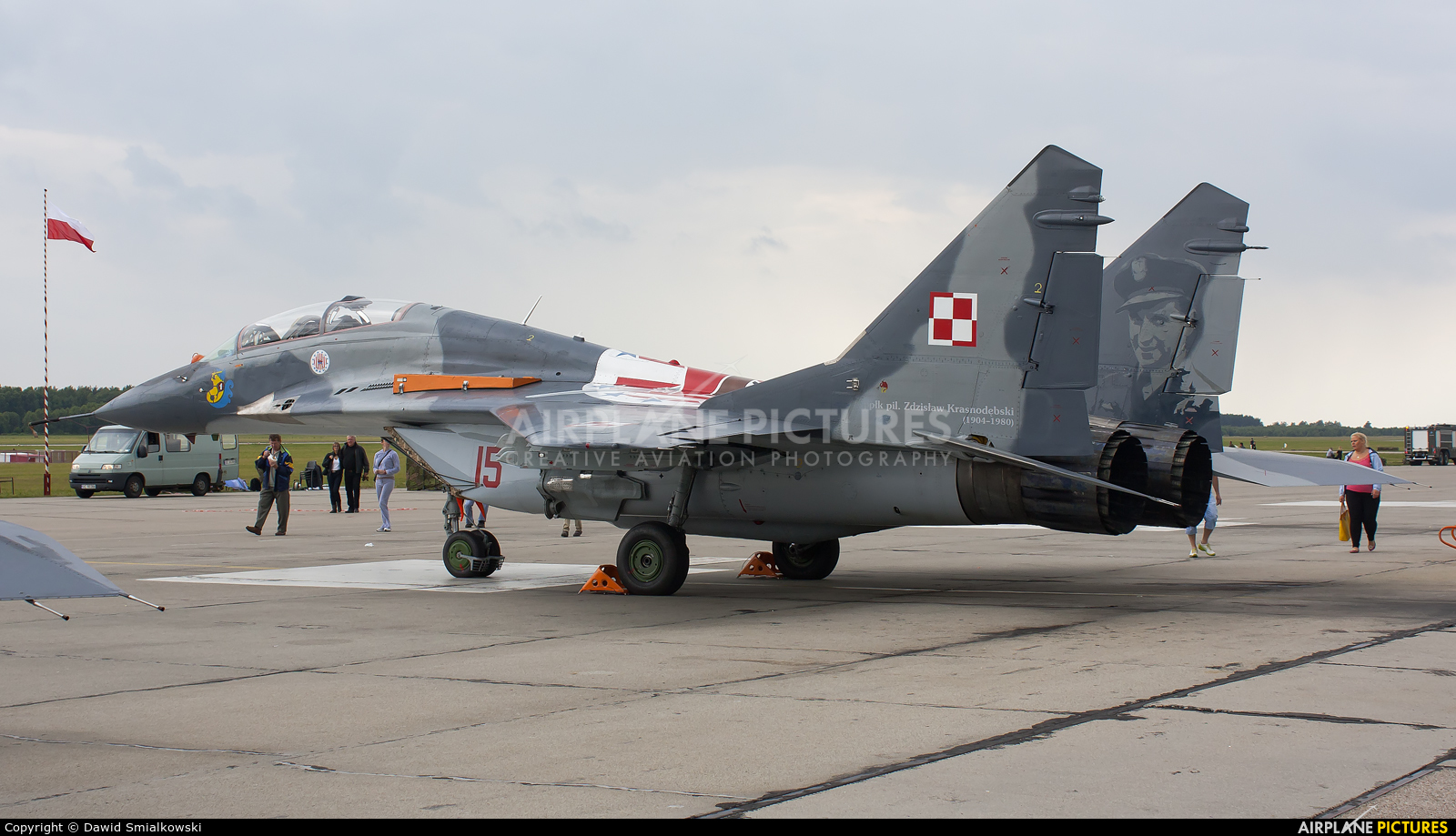 Poland - Air Force 15 aircraft at Świdwin