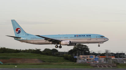 HL7569 - Korean Air Boeing 737-900