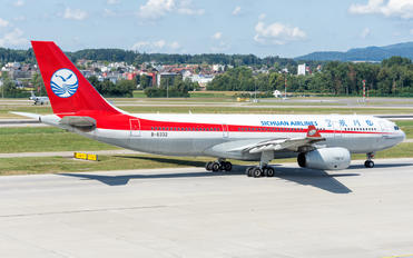 B-8332 - Sichuan Airlines  Airbus A330-200