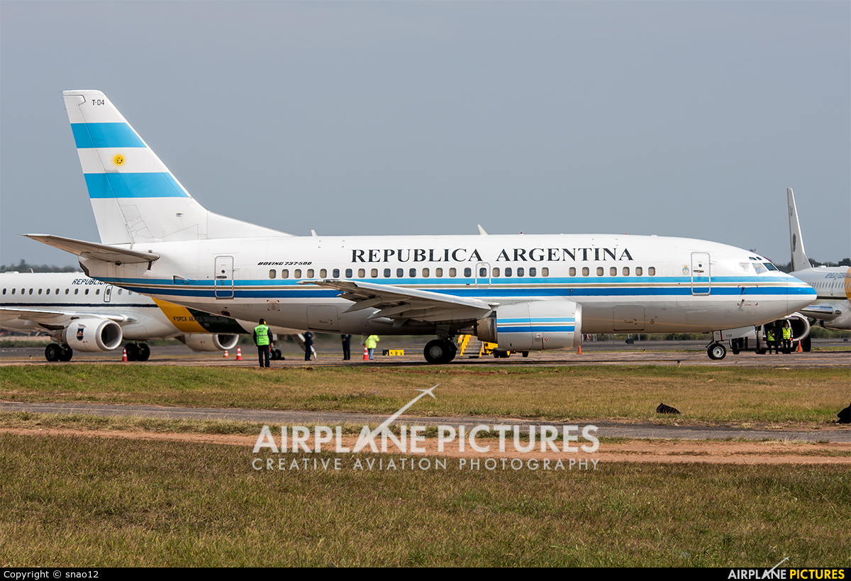 Argentina - Government T-04 aircraft at Asuncion - Silvio Pettirossi Intl