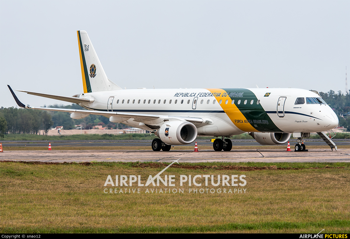 Brazil - Air Force FAB2591 aircraft at Asuncion - Silvio Pettirossi Intl