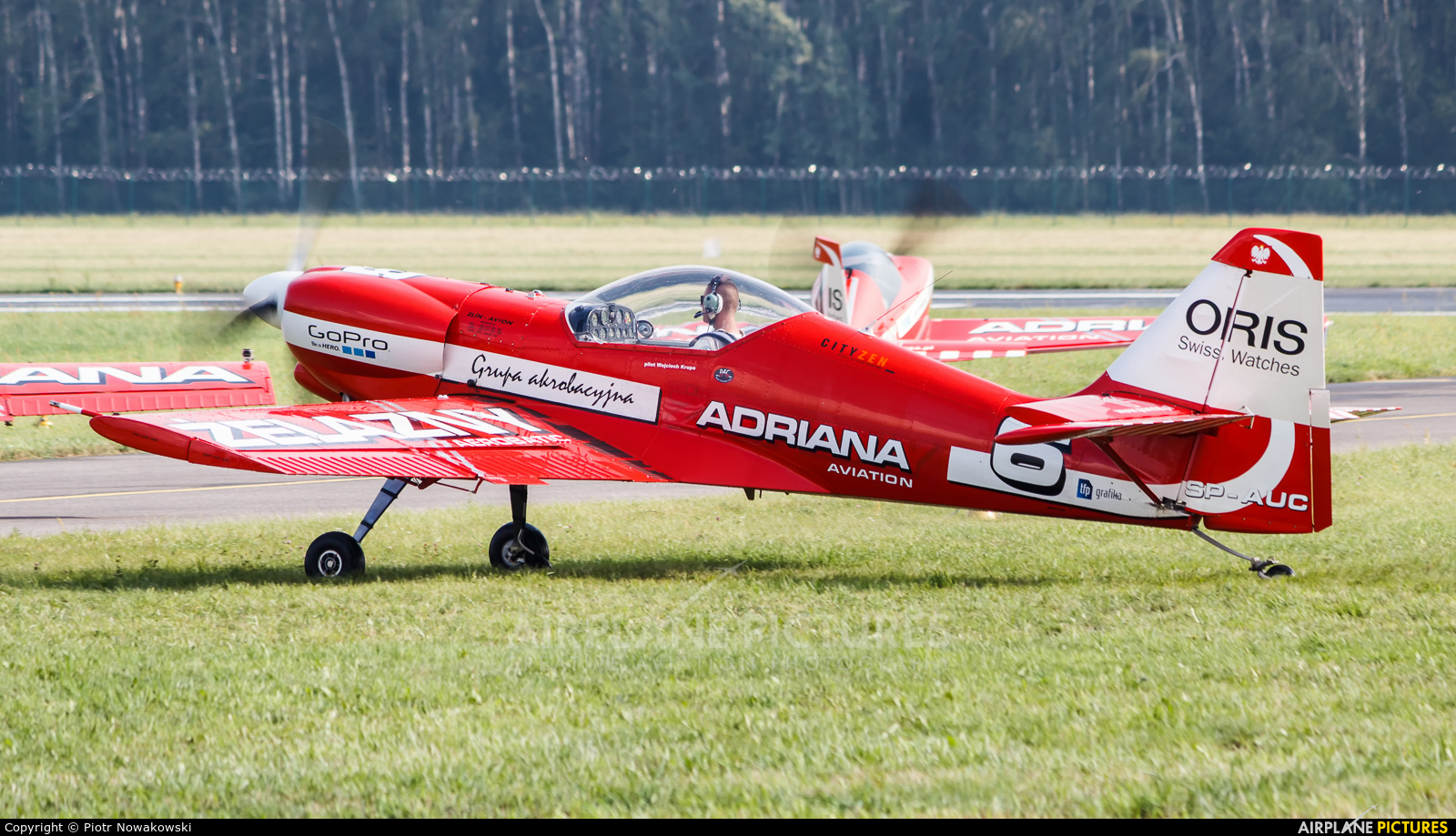 Grupa Akrobacyjna Żelazny - Acrobatic Group SP-AUC aircraft at Radom - Sadków