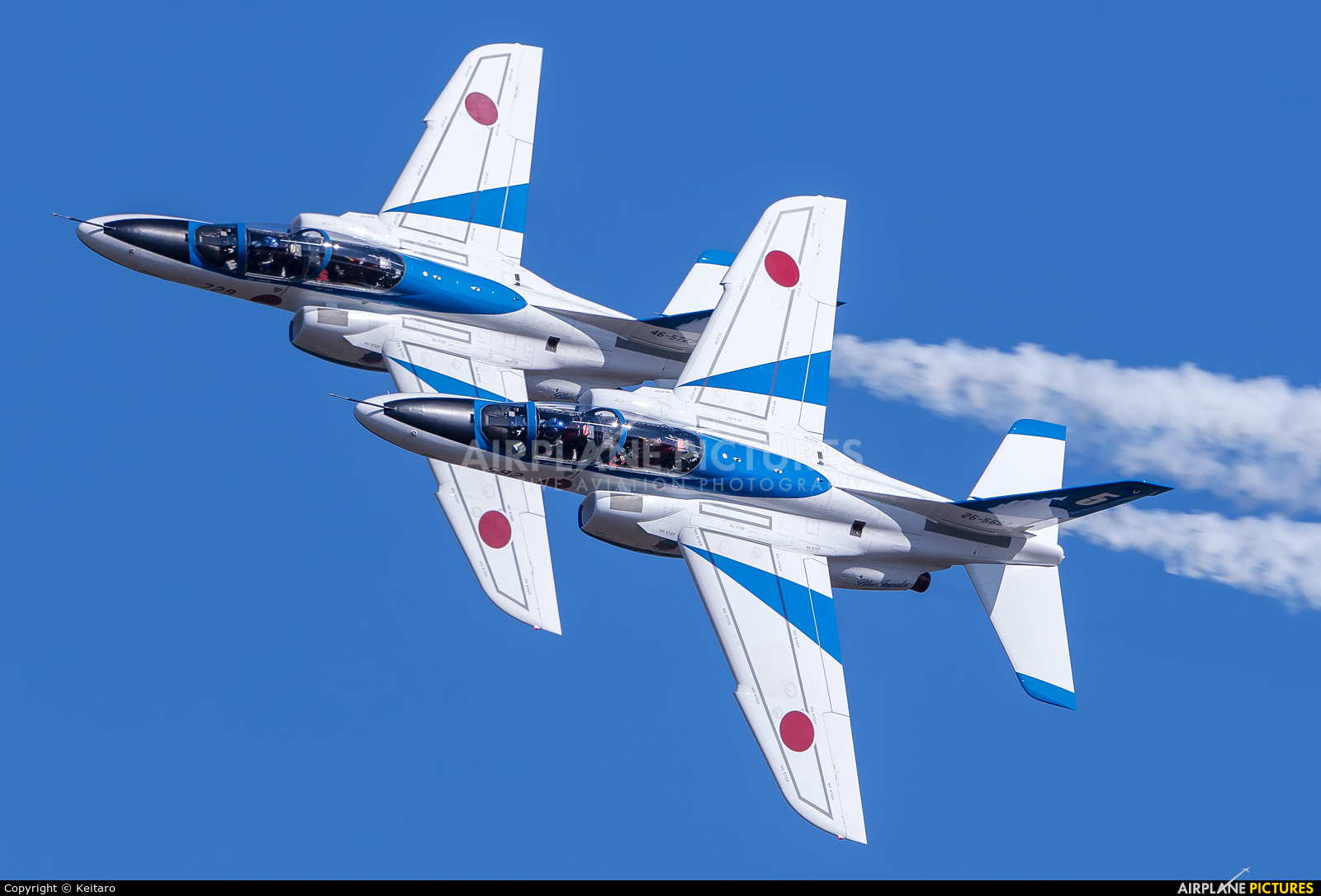 Japan - ASDF: Blue Impulse 26-5692 aircraft at Iruma AB