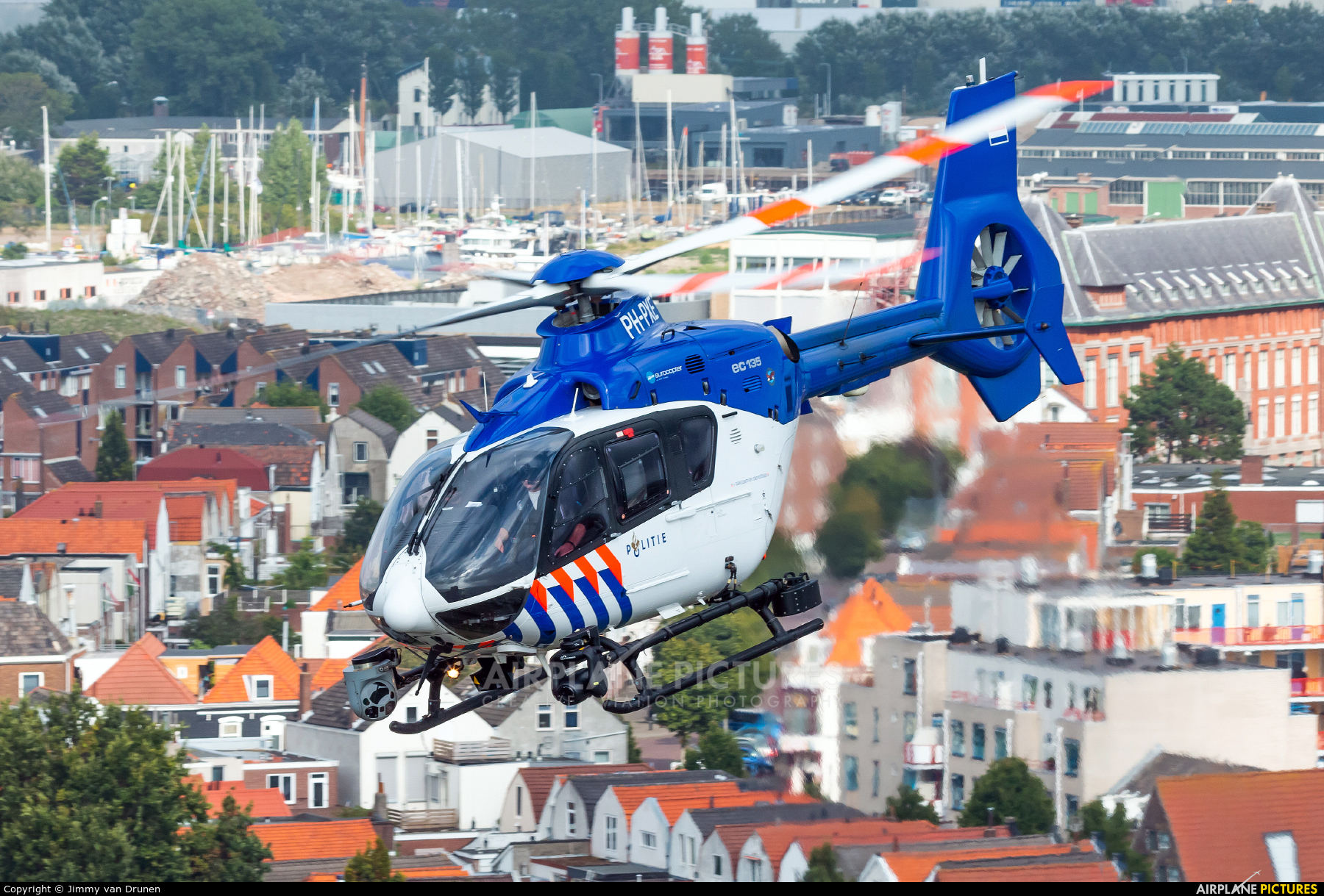 Netherlands - Police PH-PXE aircraft at Off Airport - Netherlands