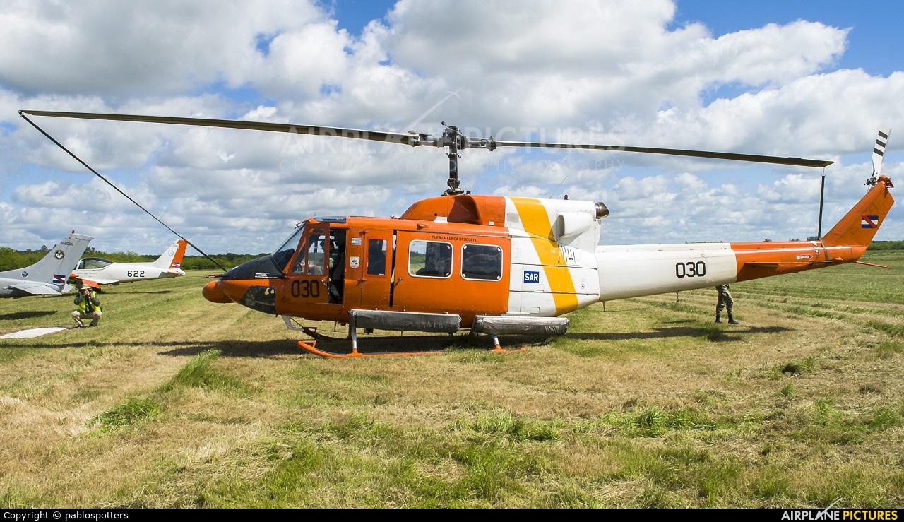 Uruguay - Air Force FAU030 aircraft at Montevideo