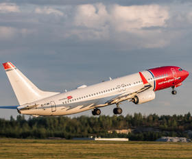EI-FJM - Norwegian Air International Boeing 737-800