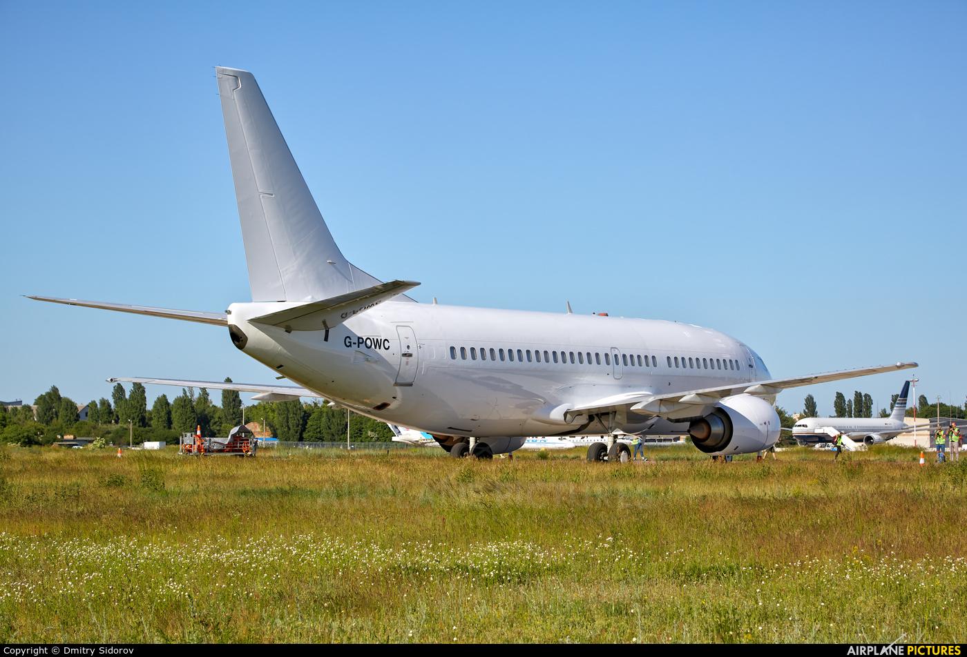 Titan Airways G-POWC aircraft at Kyiv - Borispol