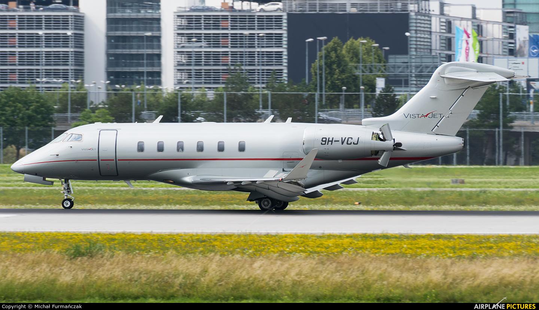 Vistajet 9H-VCJ aircraft at Munich