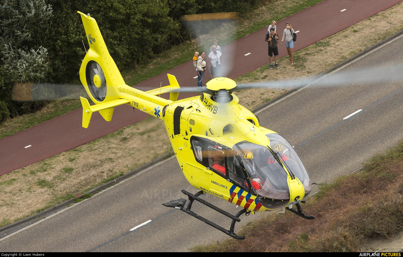 ANWB Medical Air Assistance PH-HVB aircraft at Off Airport - Netherlands