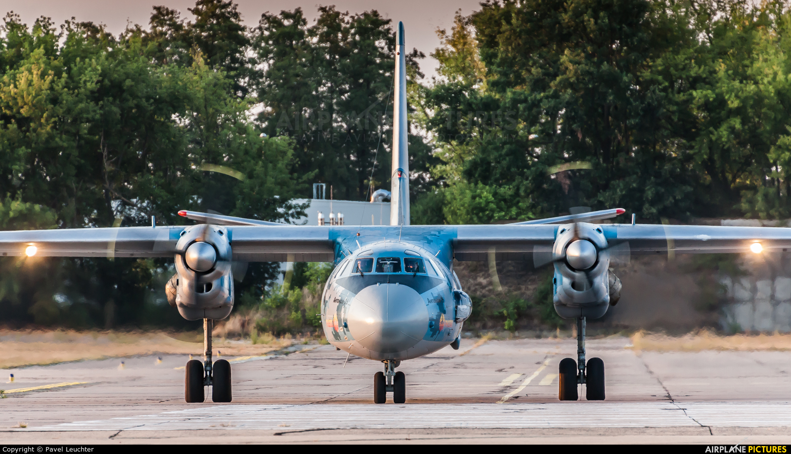 Ukraine - Air Force 08 BLUE aircraft at Pardubice