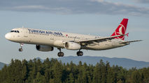 TC-JRS - Turkish Airlines Airbus A321 aircraft