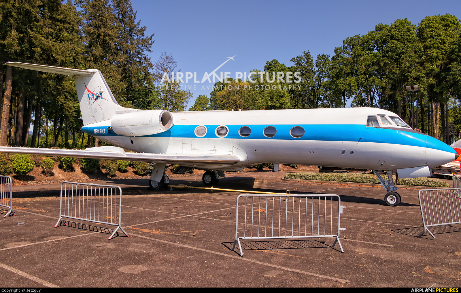 NASA N947NA aircraft at McMinnville - Evergreen Aviation & Space Museum
