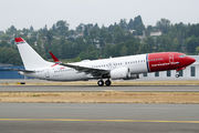 Delivery flight of new Boeing 737 MAX for Norwegian title=