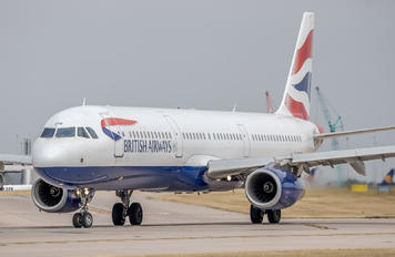 G-EUXD - British Airways Airbus A321