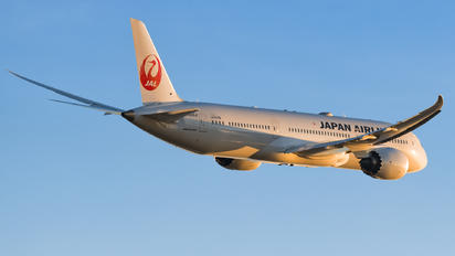 JA866J - JAL - Japan Airlines Boeing 787-9 Dreamliner