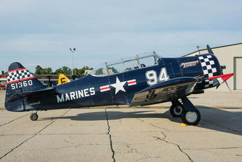 N694US - Private North American Harvard/Texan (AT-6, 16, SNJ series)