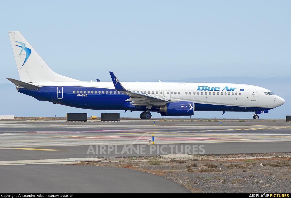 Blue Air YR-BMB aircraft at Tenerife Sur - Reina Sofia