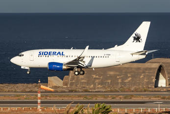 2-PGSI - Sideral Air Cargo Boeing 737-500