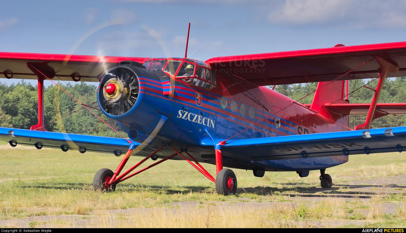 Aeroklub Szczeciński SP-NSK aircraft at Borne Sulinowo