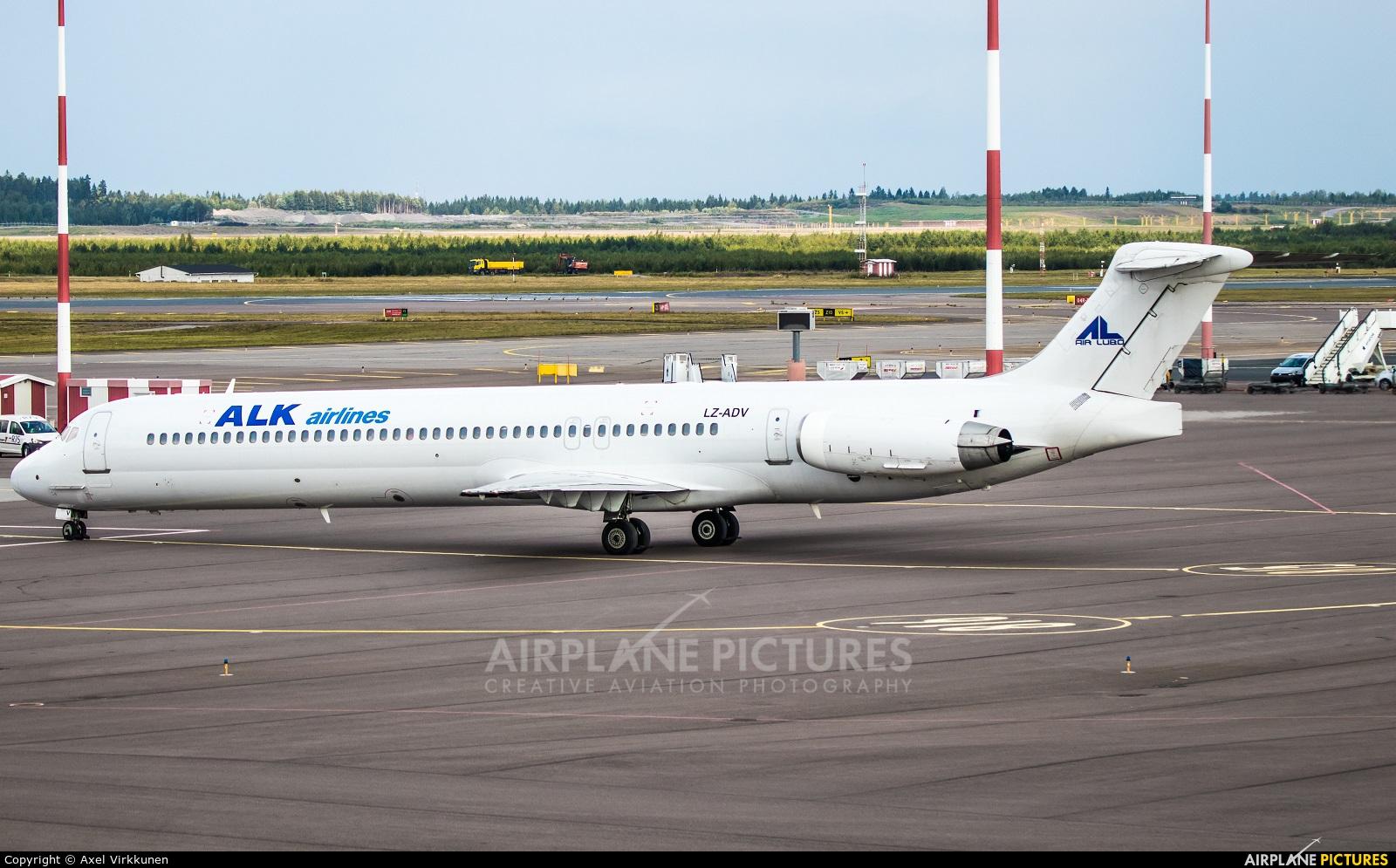 ALK Airlines LZ-ADV aircraft at Helsinki - Vantaa